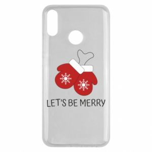 Huawei Y9 2019 Case Let's be merry