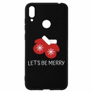 Etui na Huawei Y7 2019 Let's be merry