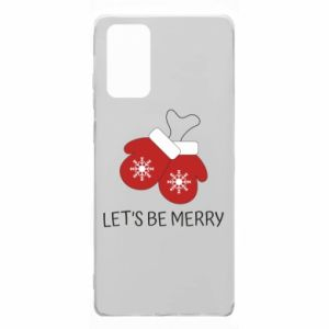 Etui na Samsung Note 20 Let's be merry