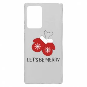 Etui na Samsung Note 20 Ultra Let's be merry