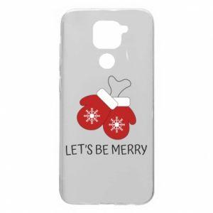 Etui na Xiaomi Redmi Note 9/Redmi 10X Let's be merry