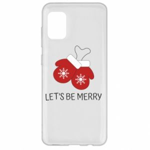 Etui na Samsung A31 Let's be merry