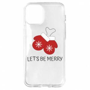 Etui na iPhone 12 Mini Let's be merry