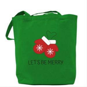 Bag Let's be merry