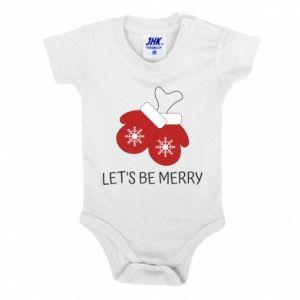 Body dziecięce Let's be merry