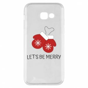 Phone case for Samsung A5 2017 Let's be merry