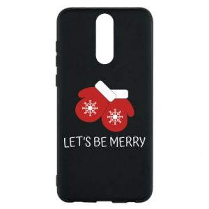 Huawei Mate 10 Lite Case Let's be merry