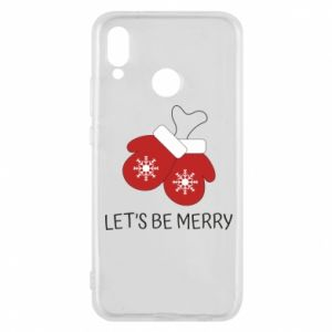 Phone case for Huawei P20 Lite Let's be merry
