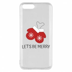 Phone case for Xiaomi Mi6 Let's be merry