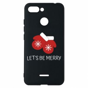 Xiaomi Redmi 6 Case Let's be merry