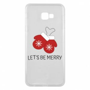 Phone case for Samsung J4 Plus 2018 Let's be merry