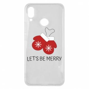 Huawei P Smart Plus Case Let's be merry