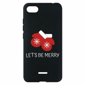 Phone case for Xiaomi Redmi 6A Let's be merry