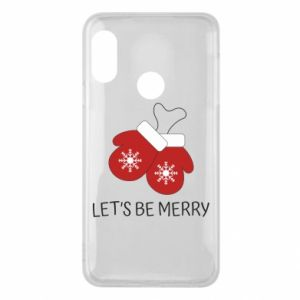 Mi A2 Lite Case Let's be merry