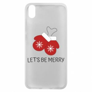 Xiaomi Redmi 7A Case Let's be merry