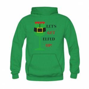 Kid's hoodie Let's get elfed up!