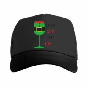 Trucker hat Let's get elfed up!
