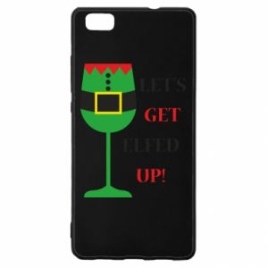 Huawei P8 Lite Case Let's get elfed up!