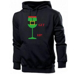 Men's hoodie Let's get elfed up!