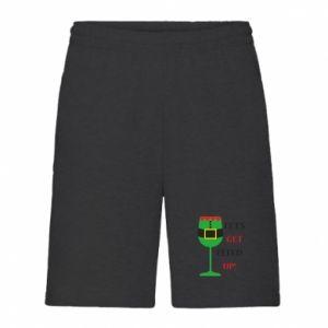 Men's shorts Let's get elfed up!