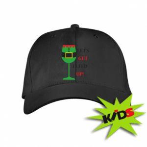 Kids' cap Let's get elfed up!