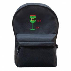 Backpack with front pocket Let's get elfed up!