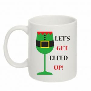 Mug 330ml Let's get elfed up!