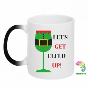 Chameleon mugs Let's get elfed up!