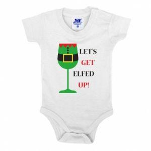 Baby bodysuit Let's get elfed up!