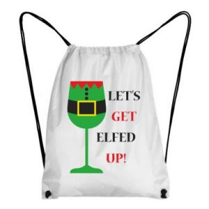 Backpack-bag Let's get elfed up!