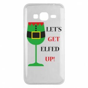 Phone case for Samsung J3 2016 Let's get elfed up!