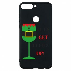 Phone case for Huawei Y7 Prime 2018 Let's get elfed up!