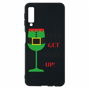 Phone case for Samsung A7 2018 Let's get elfed up!