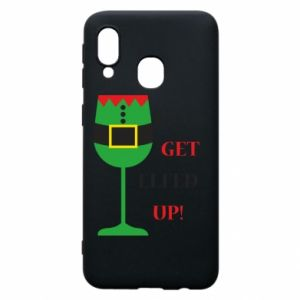 Phone case for Samsung A40 Let's get elfed up!