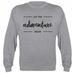 Bluza (raglan) Let the adventure begin