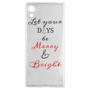 Sony Xperia XA1 Case Let your days be merry and bright