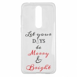 Nokia 5.1 Plus Case Let your days be merry and bright