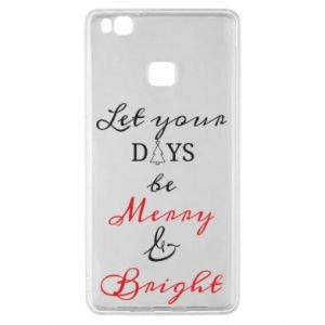 Huawei P9 Lite Case Let your days be merry and bright