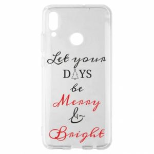 Huawei P Smart 2019 Case Let your days be merry and bright