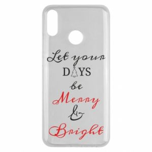 Huawei Y9 2019 Case Let your days be merry and bright