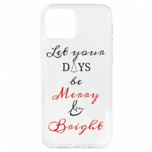 Etui na iPhone 12/12 Pro Let your days be merry and bright