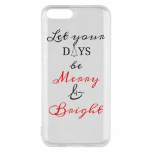 Xiaomi Mi6 Case Let your days be merry and bright