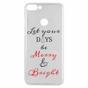Huawei P Smart Case Let your days be merry and bright