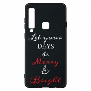 Samsung A9 2018 Case Let your days be merry and bright