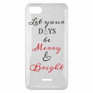 Xiaomi Redmi 6A Case Let your days be merry and bright