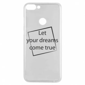 Etui na Huawei P Smart Let your dreams come true