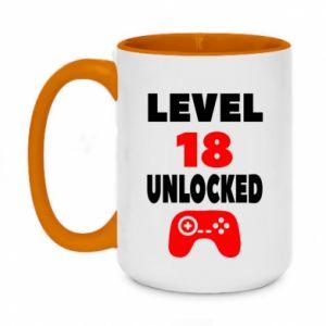 Two-toned mug 450ml Level 18