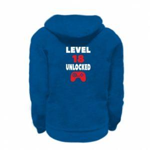Kid's zipped hoodie % print% Level 18