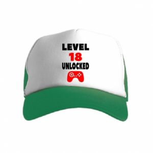 Kid's Trucker Hat Level 18