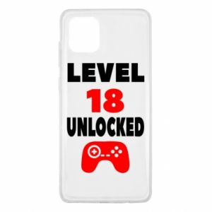 Samsung Note 10 Lite Case Level 18